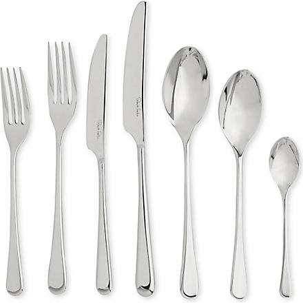 ROBERT WELCH Iona Bright stainless steel seven-piece cutlery set