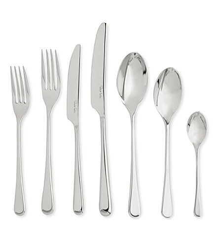 ROBERT WELCH Iona Bright stainless steel seven-piece cutlery set