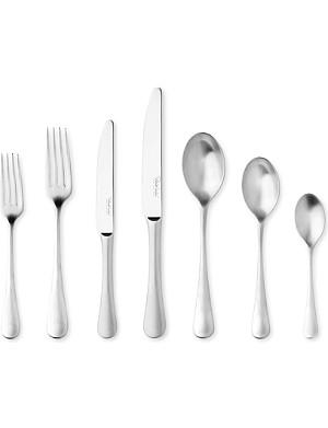 ROBERT WELCH Radford satin stainless steel seven-piece cutlery set