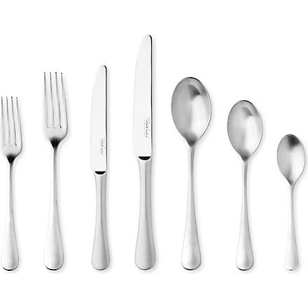 ROBERT WELCH Radford satin stainless steel seven-piece cutlery set
