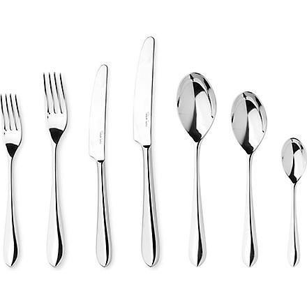 ROBERT WELCH Norton mirrored stainless steel seven-piece cutlery set