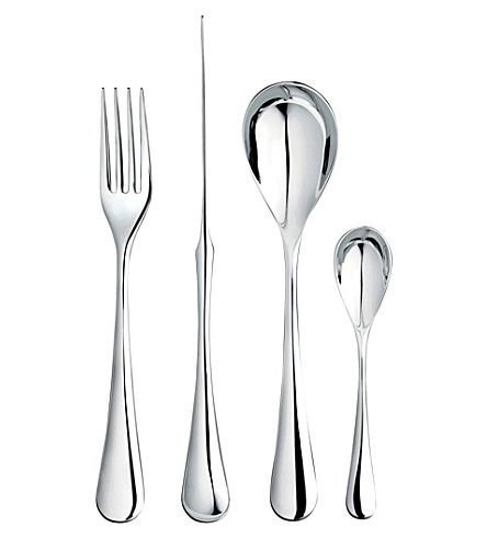 ROBERT WELCH Ashbury 24 piece stainless steel cutlery set for 4
