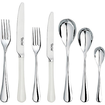 ROBERT WELCH Ashbury mirrored stainless steel 42-piece cutlery set