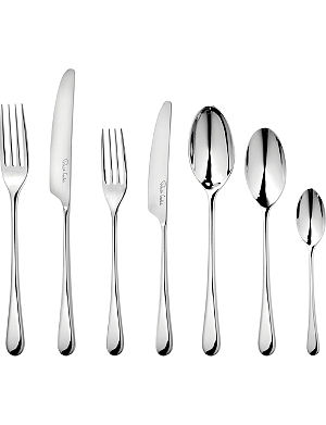 ROBERT WELCH Iona mirrored stainless steel 42-piece cutlery set