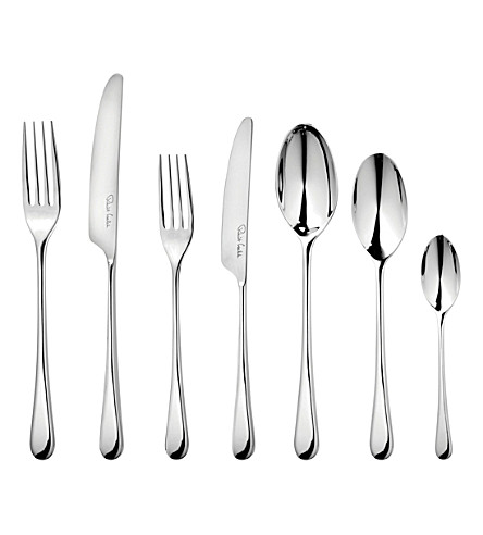 ROBERT WELCH Iona 84 piece stainless steel cutlery set