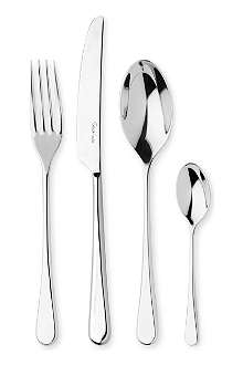 ROBERT WELCH Iona mirrored stainless steel 24-piece cutlery set