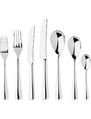 ROBERT WELCH Malvern mirrored stainless steel seven-piece cutlery set