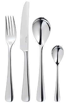 ROBERT WELCH Malvern mirrored stainless steel 24-piece cutlery set