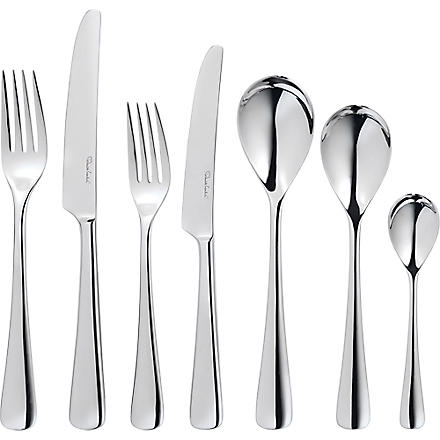 ROBERT WELCH Malvern mirrored stainless steel 84-piece cutlery set