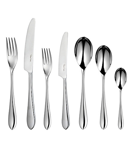 ROBERT WELCH Norton 84-piece stainless steel cutlery set