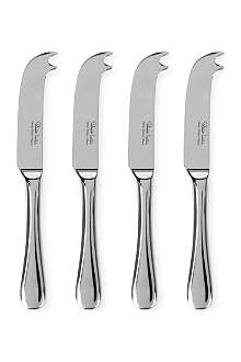 ROBERT WELCH Radford small four-piece cheese knife set