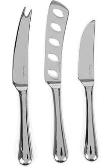 ROBERT WELCH Radford three-piece cheese knife set