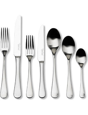 ROBERT WELCH Radford satin stainless steel 42-piece cutlery set