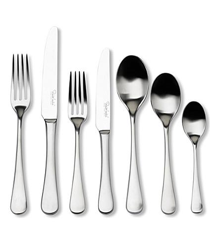 ROBERT WELCH Radford satin stainless steel 42-piece cutlery set