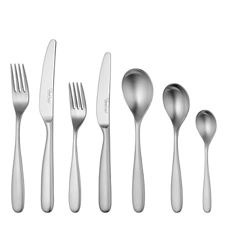 ROBERT WELCH Stanton 42 piece stainless steel cutlery set for 6