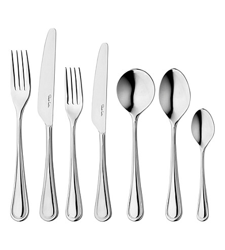 ROBERT WELCH Stratford 42 piece stainless steel cutlery set