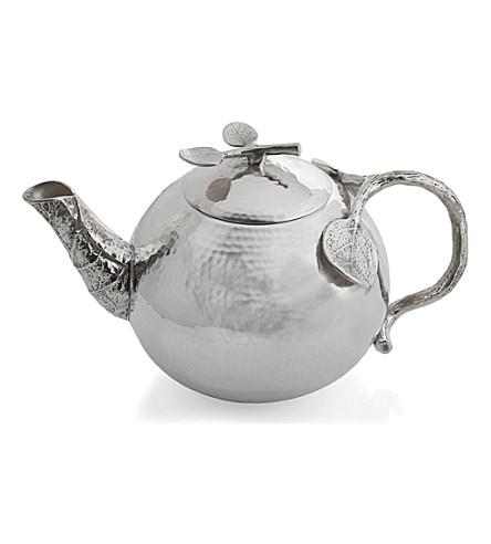 MICHAEL ARAM Botanical Leaf teapot