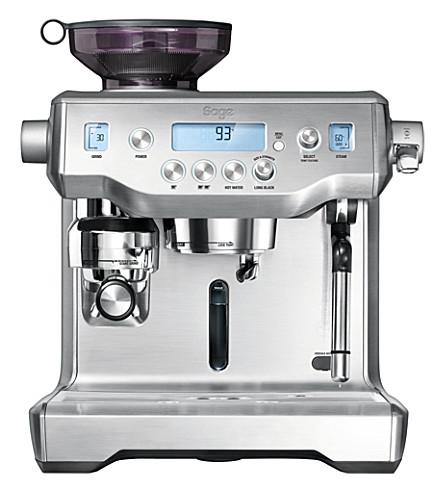 SAGE BY HESTON BLUMENTHAL 甲骨文全自动手动浓缩咖啡机