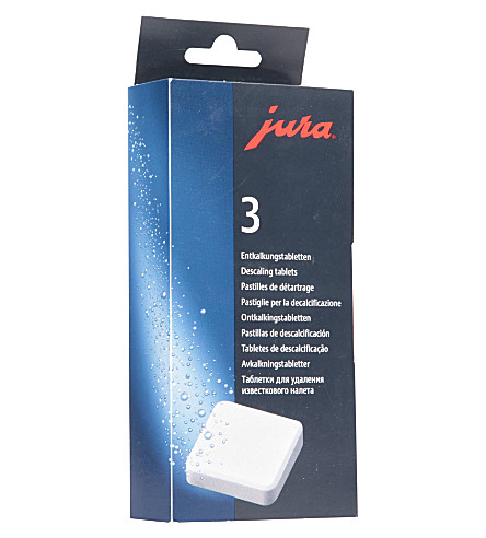 JURA Decalcifying tablets