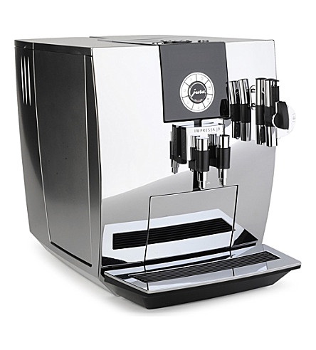 jura impressa j9 coffee machine chrome. Black Bedroom Furniture Sets. Home Design Ideas