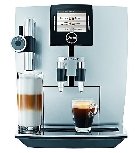 jura impressa j9 one touch tft coffee machine. Black Bedroom Furniture Sets. Home Design Ideas