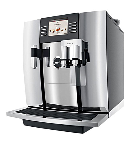 JURA 兆 5 铬咖啡机