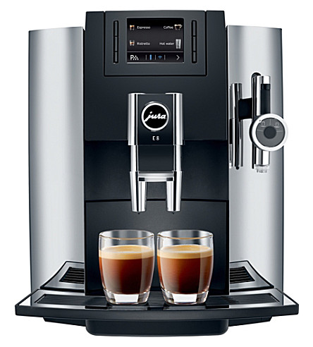 JURA E8 bean-to-cup coffee machine