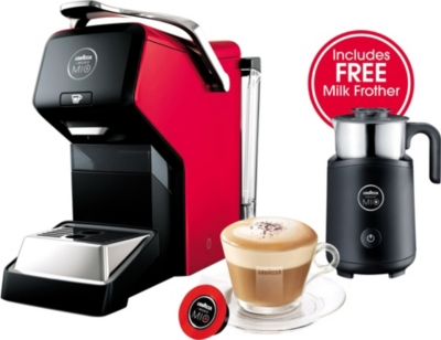 How To Use Lavazza Coffee Maker : LAVAZZA - Lavazza Espria coffee maker bundle Selfridges.com