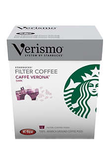 STARBUCKS Verismo™ Caffè Verona brewed coffee pods