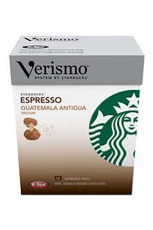 STARBUCKS Verismo™ Guatemala Antigua espresso pods