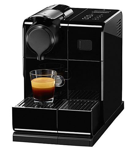 NESPRESSO Nespresso lattissma touch black