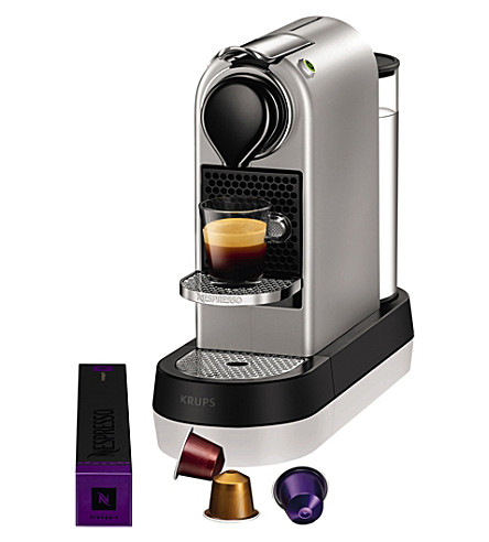 NESPRESSO Krups Citiz & milk red coffee machin