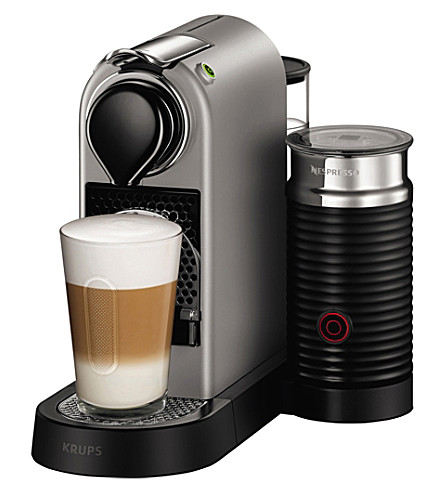 nespresso krups citiz milk coffee machine bundle. Black Bedroom Furniture Sets. Home Design Ideas