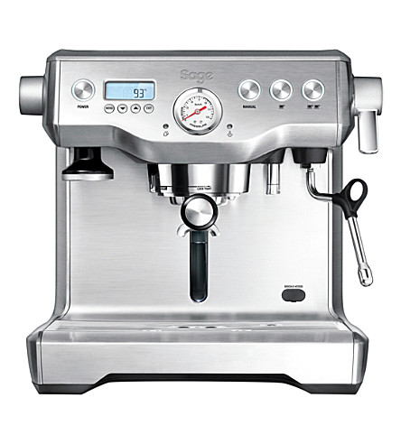 SAGE BY HESTON BLUMENTHAL The Dual Boiler stainless steel espresso coffee machine