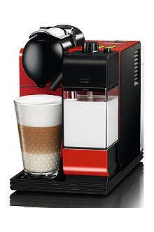 NESPRESSO Delonghi Nespresso Lattissima+ passion red