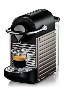 NESPRESSO Krups Nespresso Pixie coffee machine electric titanium