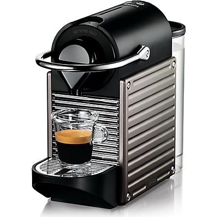 NESPRESSO Krups Nespresso Pixie coffee machine electric titanium (Titanium