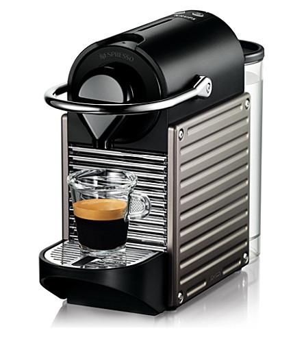 NESPRESSO Krups Nespresso Pixie coffee machine electric titanium (Titanium