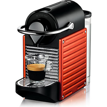 NESPRESSO Krups Nespresso Pixie coffee machine electric red (Red