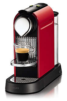 NESPRESSO Krups Nespresso Citiz coffee machine red