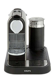 NESPRESSO Krups Nespresso Citiz coffee & milk machine titanium