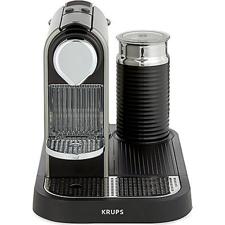 NESPRESSO Krups Nespresso Citiz coffee & milk machine titanium (Titanium