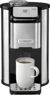 CUISINART - One cup grind and brew filter coffee maker Selfridges.com