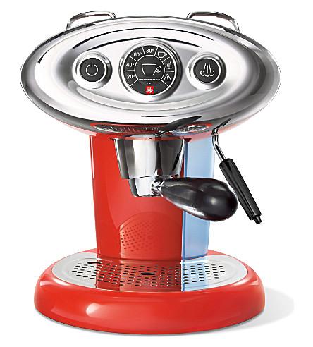 ILLY illy X7.1 Iperespresso espresso machine (Red