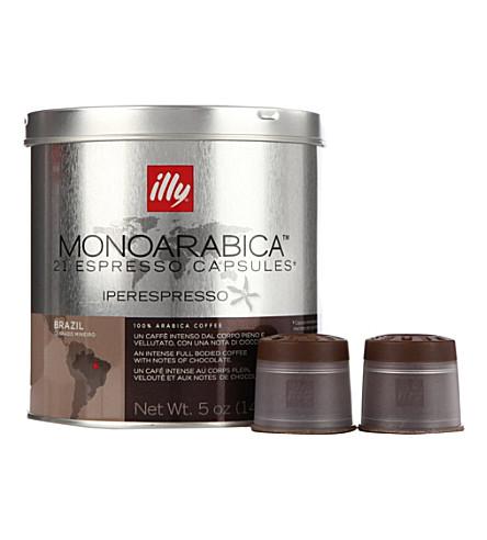 ILLY Brazil Monoarabica espresso capsules 140g