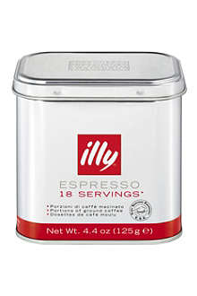ILLY illy ground coffee espresso pods