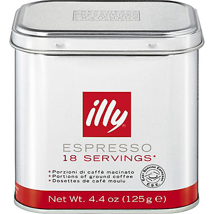 ILLY Ground coffee espresso pods