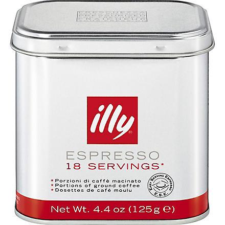 ILLY Ground coffee espresso pods