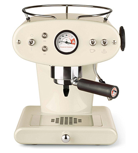 ILLY illy X1 for Ground Coffee espresso machine (Cream