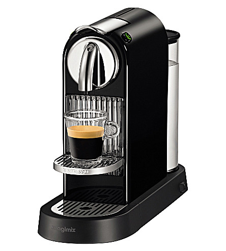 nespresso magimix nespresso citiz coffee machine black. Black Bedroom Furniture Sets. Home Design Ideas